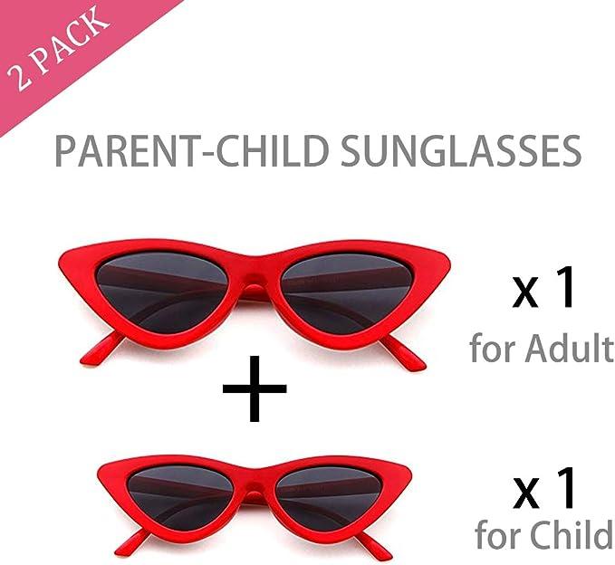 Amazon.com: Juego de 2 gafas de sol con diseño de ojo de ...