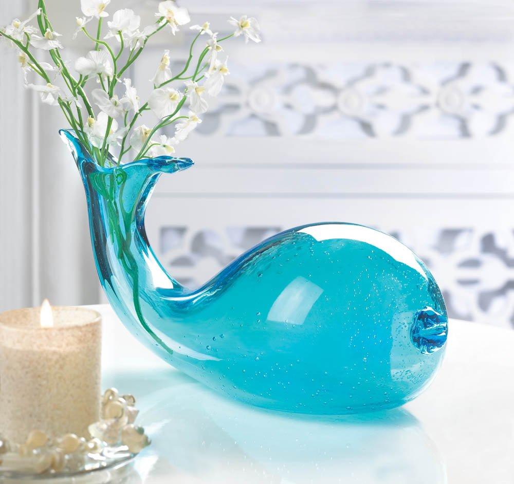 Amazon decorative art glass whale vase home kitchen reviewsmspy