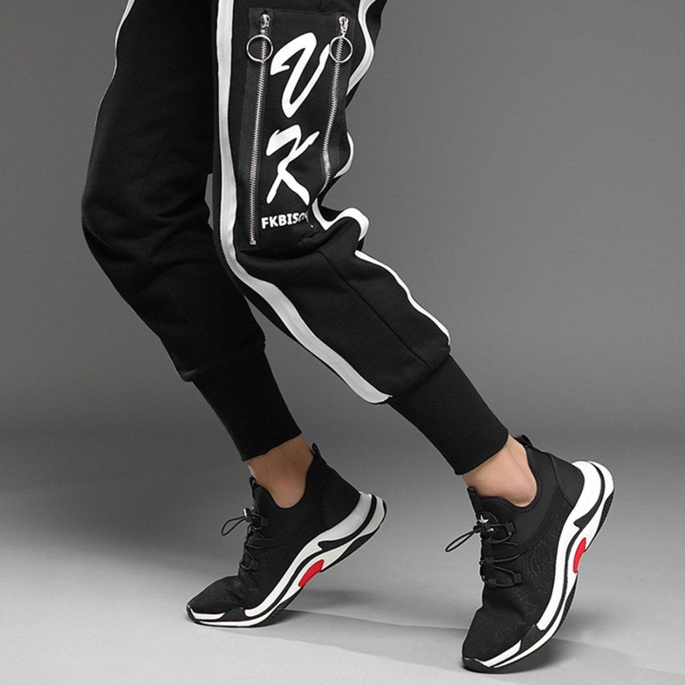 RSHENG Männer Casual Breathable Sportschuhe Mode Mode Mode Stricken Outdoor Laufschuhe Wandern Fitness Schuhe d84fbb