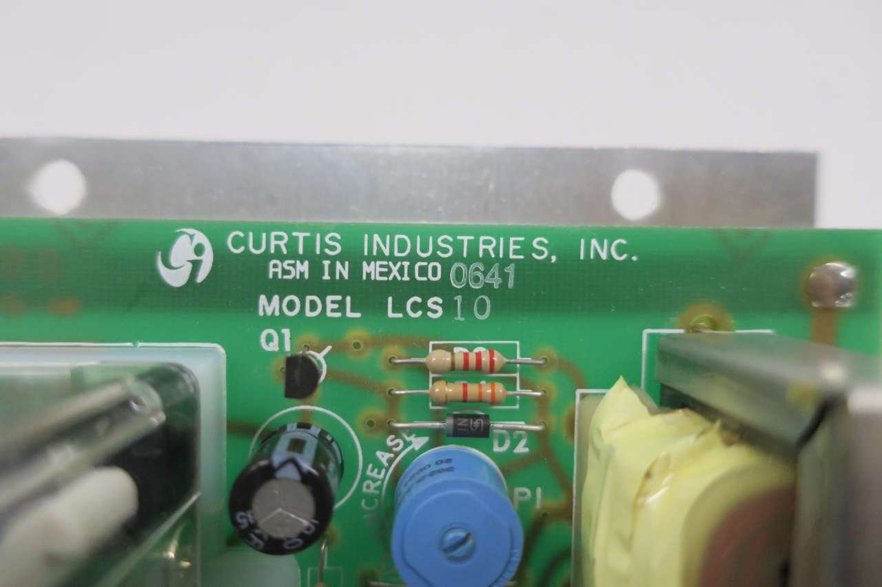 Curtis Industries Lcs10 Relay Module Circuit Board D575692 Amazon Electronic Industrial Scientific