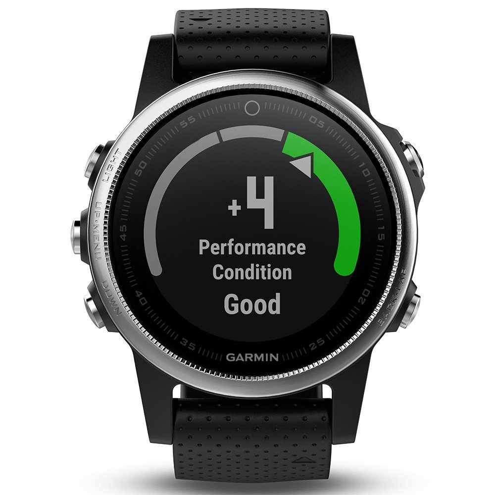 Garmin fenix 5S (Silver with Black Band) GIFT BOX Bundle | Includes HD Screen Protector, PlayBetter USB Car/Wall Adapter & Hard Case | Multi-Sport GPS Fitness Watch, Wrist-HR | Black Gift Box by PlayBetter (Image #4)
