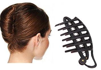 Cuhair 2 Pinces A Cheveux Magiques Pour Chignon Banane Accessoire