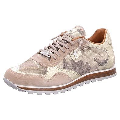 Cetti Damen Sneaker P9 C 848 SRA camuflage platinas beige 619806