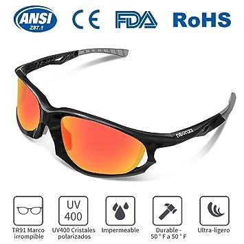 Gafas de Sol Deportivas, KKUP2U Gafas de Sol para Hombre y Mujer, Polarizadas con