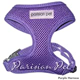 Dog Harness Soft Mesh Pet Harness, Extra-Large, Purple, My Pet Supplies