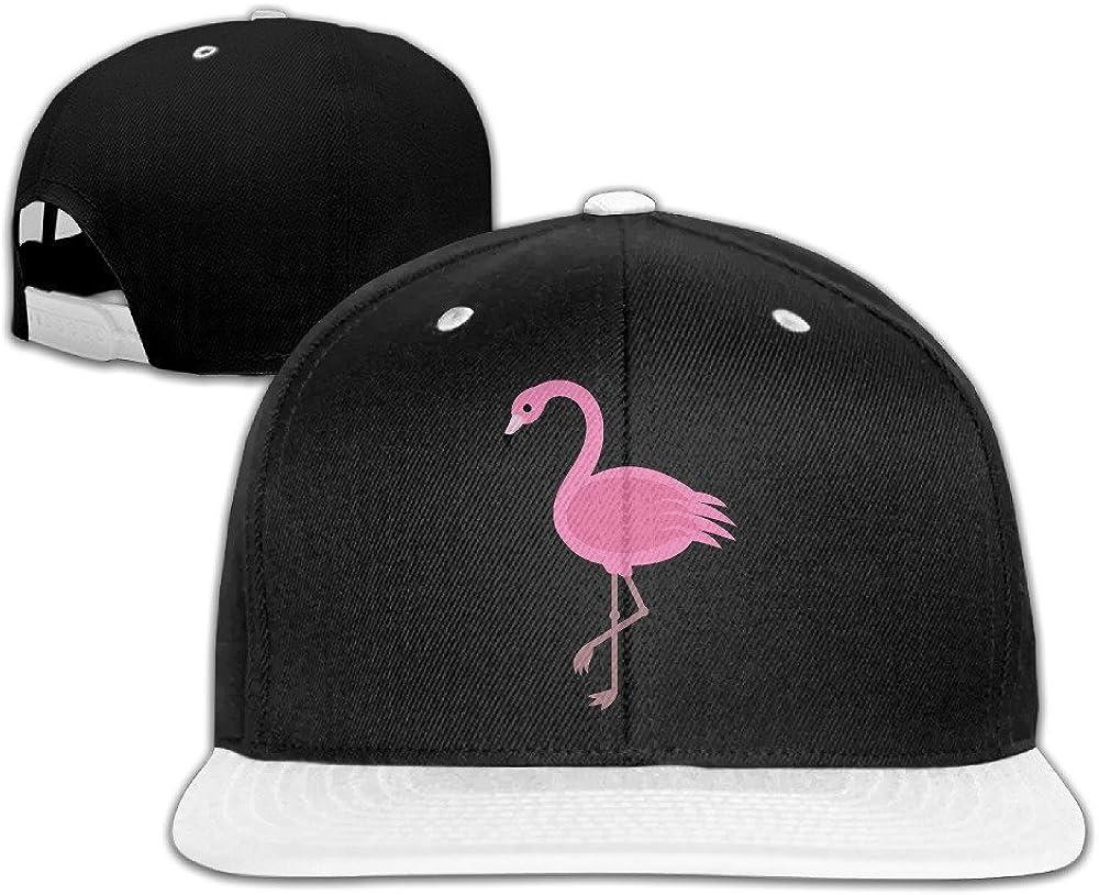 NUBIA Pink Flamingo Custom Baseball Hat Adjustable Flat Bill Cap Pink