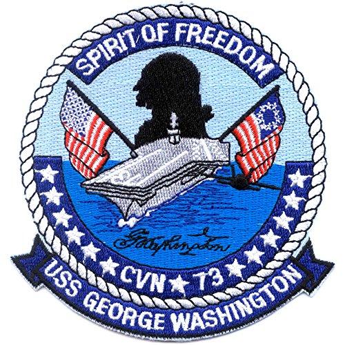 CVN-73 USS George Washington Aircraft Carrier Patch