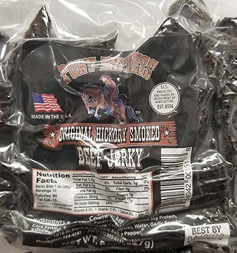 Original Beef Jerky (8oz) by Pony Express Foods (Image #1)