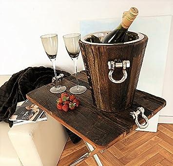Wein Champagner Kühler St Barth Edles Ausgefallenes Design
