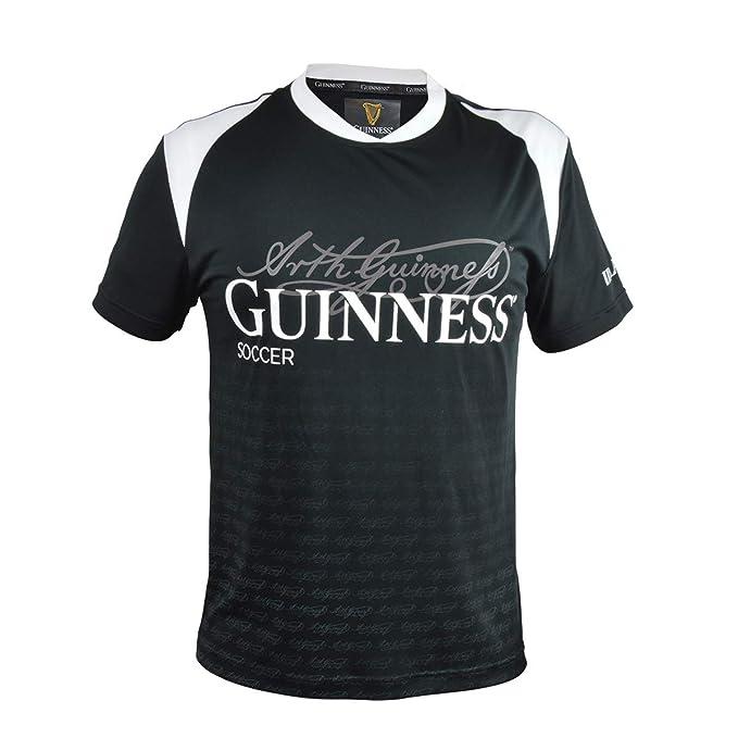 Guinness Black Grey HARP Logo Basketball Jersey Mens Irish Ireland New