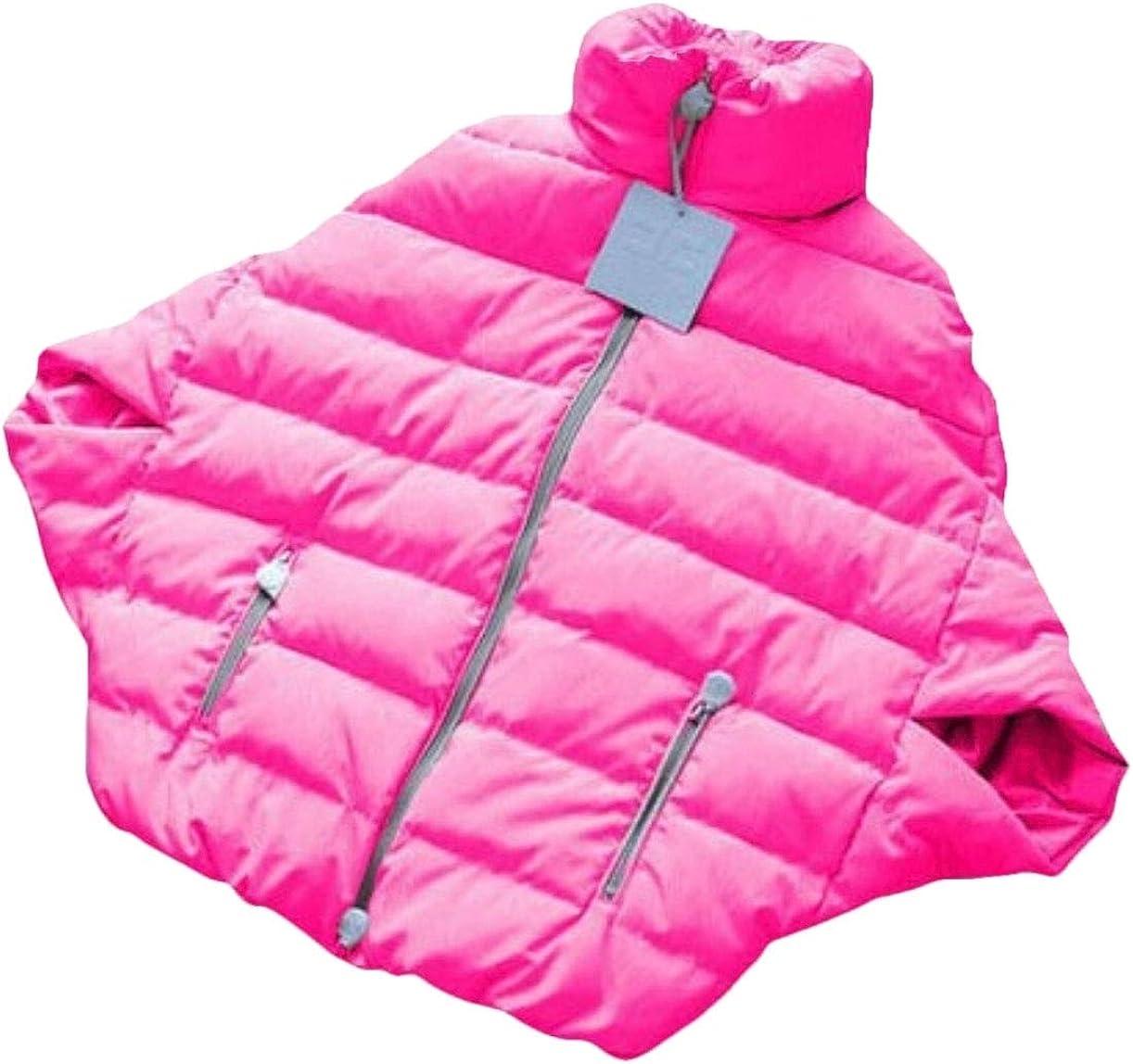 desolateness Womens Jacket Warm Coat Batwing Sleeve Cape Poncho Coat 1 XL