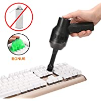 Cordless Keyboard Cleaner with Cleaner Gel, MECO Rechargeable Mini Computer Vacuum Cleaner, Best Cleaner for Cleaning Dust,Hairs,Crumbs,Scraps for Laptop,Piano,Computer,Car,Desk and Pet House