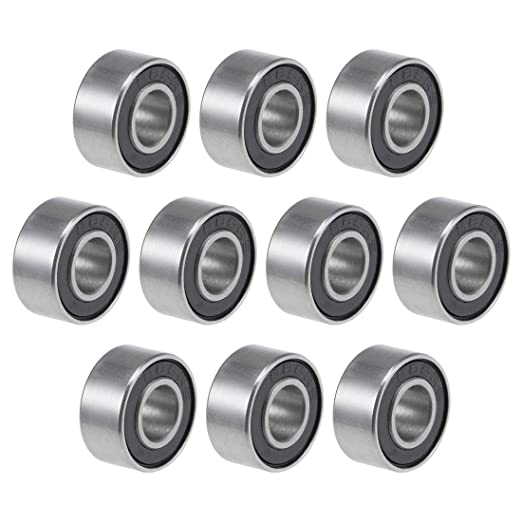 Open Full Complement Drawn Cup 1-inch I.D uxcell B1616 Needle Roller Bearings 1-1//4-inch OD 1-inch Width 15600N Static Load 8090N Dynamic Load 5200Rpm Limiting Speed