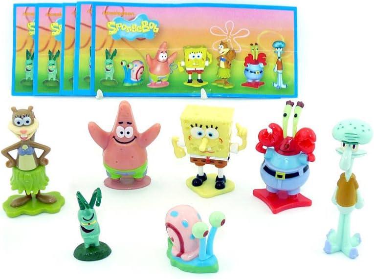 Kinder Überraschung, un juego Bob esponja Figuras de 2012 con ...