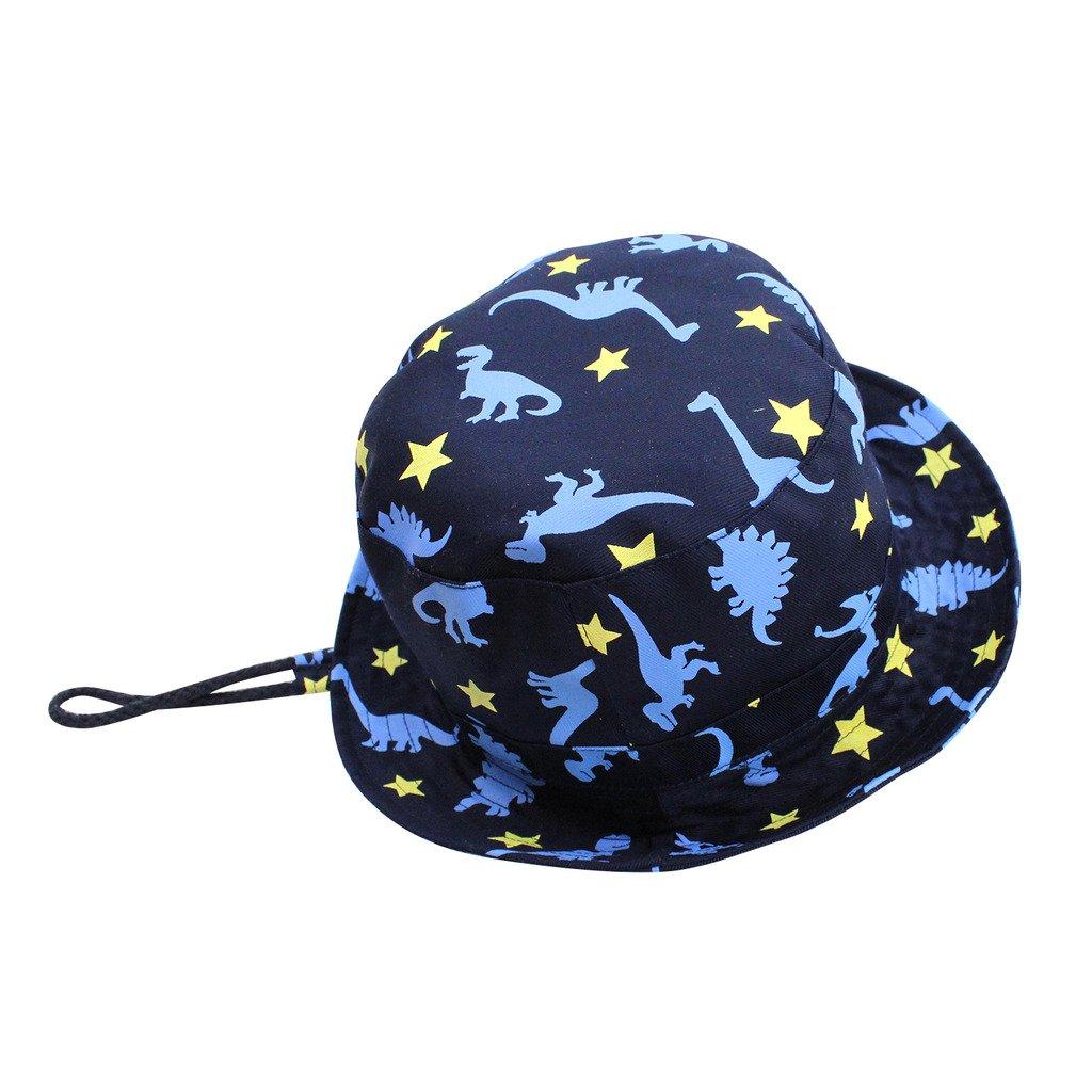 Home Prefer Toddler Boys Sun Hat UPF 50+ Kids Safari Hat Lightweight Wide Brim Play Hat for Summer Outdoor #50