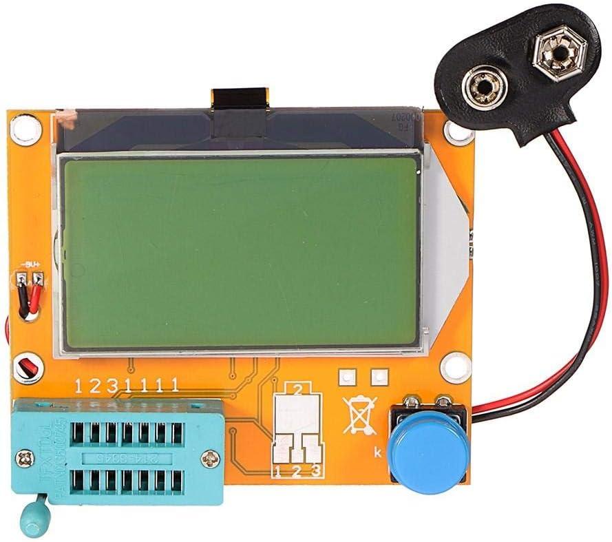 QuickShop LCR-T4 12864 LCD Graphical Transistor Tester Resistance Capacitance ESR SCR Meter