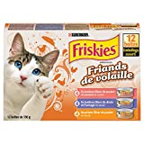 Purina® Friskies® Poultry Lovers Cat Food Variety Pack 12-156g Cans