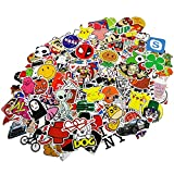 Funny Sticker Pack, Auto-Partner Waterproof Cool Vinyl Decals for Laptop, Skateboard, Luggage, Car, Bumper, Bike and Water Bottles (200 Pcs/Pack)