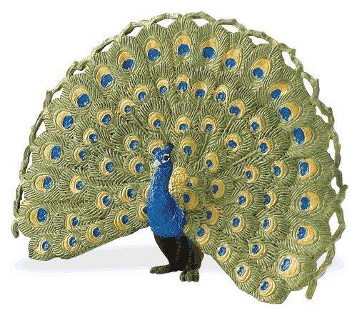 Peacock Plush - Safari Ltd  Wings of the World Peacock
