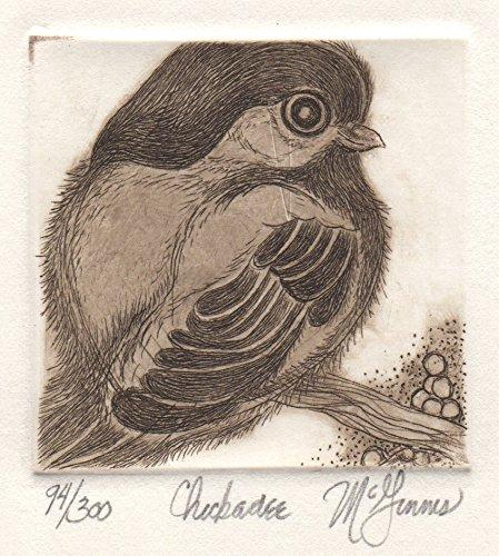 Chickadees Framed - Chickadee