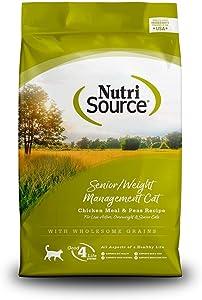Nutri Source Cat Senior Weight Management - Chicken & Rice 16lb