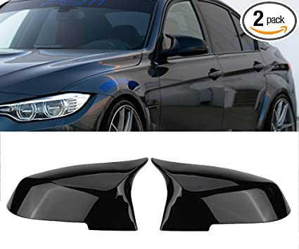Fit For BMW E84 F20 F22 F30//F33 Replacement Glossy Blk Mirror Cover M4 Exterior