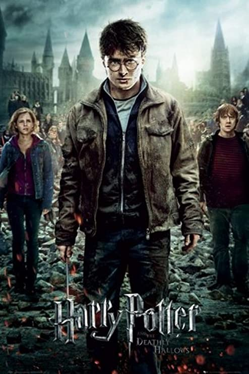 Amazon Com Harry Potter 7 Part 2 One Sheet Poster 24 X 36 Inches Prints Posters Prints