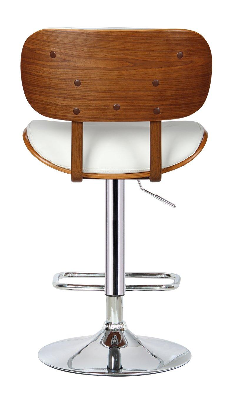 Wonderful Amazon.com: Boraam 99431 Smuk Adjustable Swivel Stool, White: Kitchen U0026  Dining