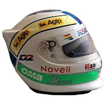 Casco Giancarlo Fisichella Formula 1 F1 Original de Colección Korean Air Talla L introvabile