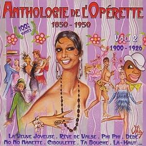 "Afficher ""Anthologie de l'opérette"""