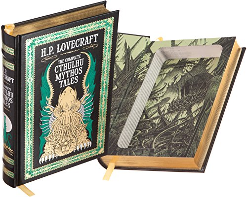 Real Hollow Book Safe - H.P. Lovecraft - The Complete Cthulhu Mythos Tales (Leather-bound) (Magnetic Closure)