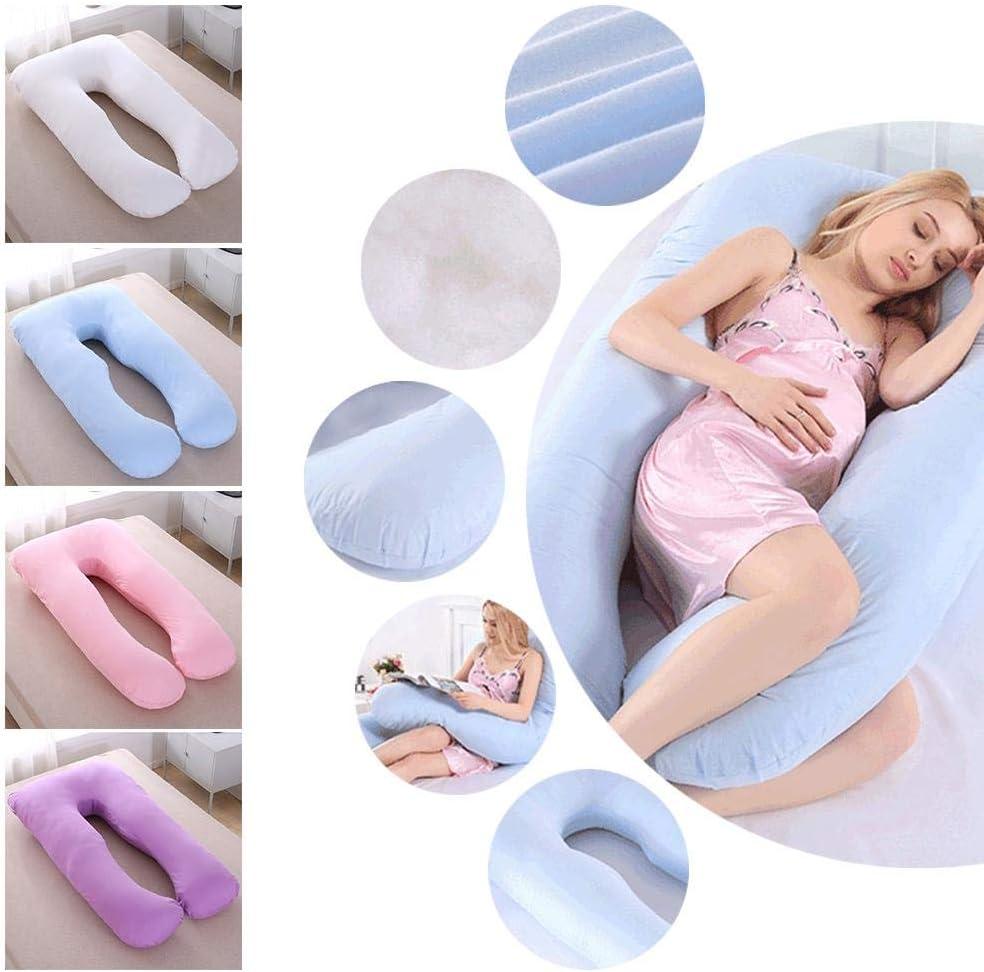 Eayse Schwangerschaftskissenbezug Bezug aus Baumwolle f/ür Seitenschl/äferkissen Lagerungskissen 80 x160 cm