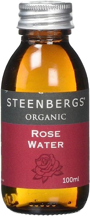Image ofOrganic Rose Water 100ml Glass Bottle