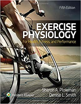 Book Exercise Physiology for Health Fitness and Performance