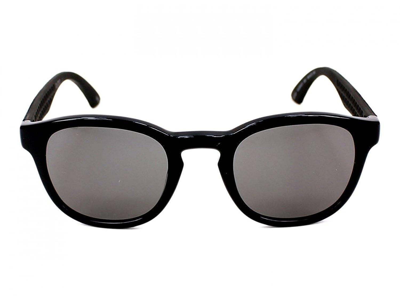 Amazon.com: Puma 0042s 002 negro 0042s Oval anteojos de sol ...