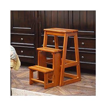 Prime Amazon Com Alf Step Stool 3 Steps Wooden Practical Steps Beatyapartments Chair Design Images Beatyapartmentscom