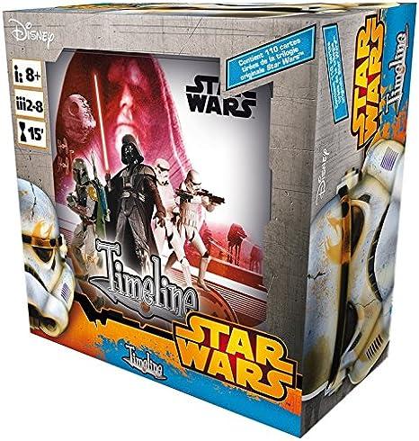 Asmodee CARCHSW03FR Timeline Starwars - Caja de edición Especial: Amazon.es: Juguetes y juegos