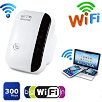 Extended effect: Built-in integrated wire provide 360-degree wireless coverage for WiFi, enhance existing Wi-Fi coverage…