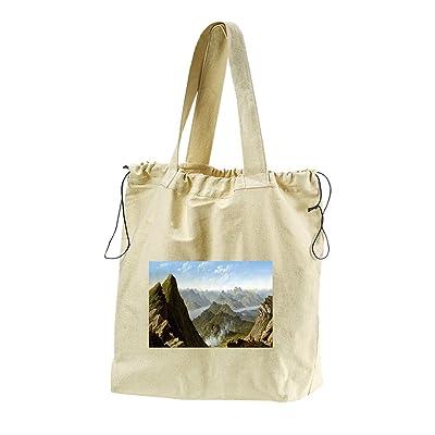 Northwest View Of Ben Lamond (Knoxs) Canvas Drawstring Beach Tote Bag