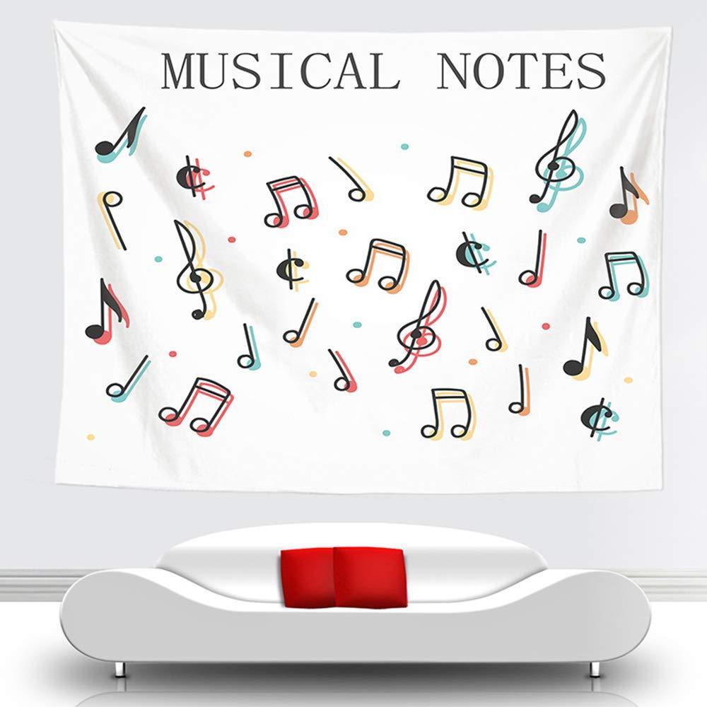 AYUE® Moderna Minimalista Símbolo de Música de Gobelino Naturaleza ...