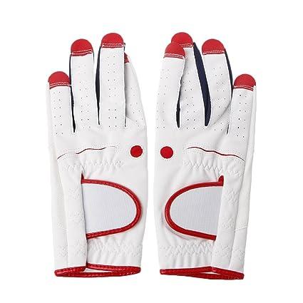 Wanfor Guante de golf de piel transpirable mano izquierda ...