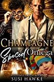 #5: Champagne Spiced Omega: an M/M Omegaverse Mpreg Romance  (The Hollydale Omegas Book 4)