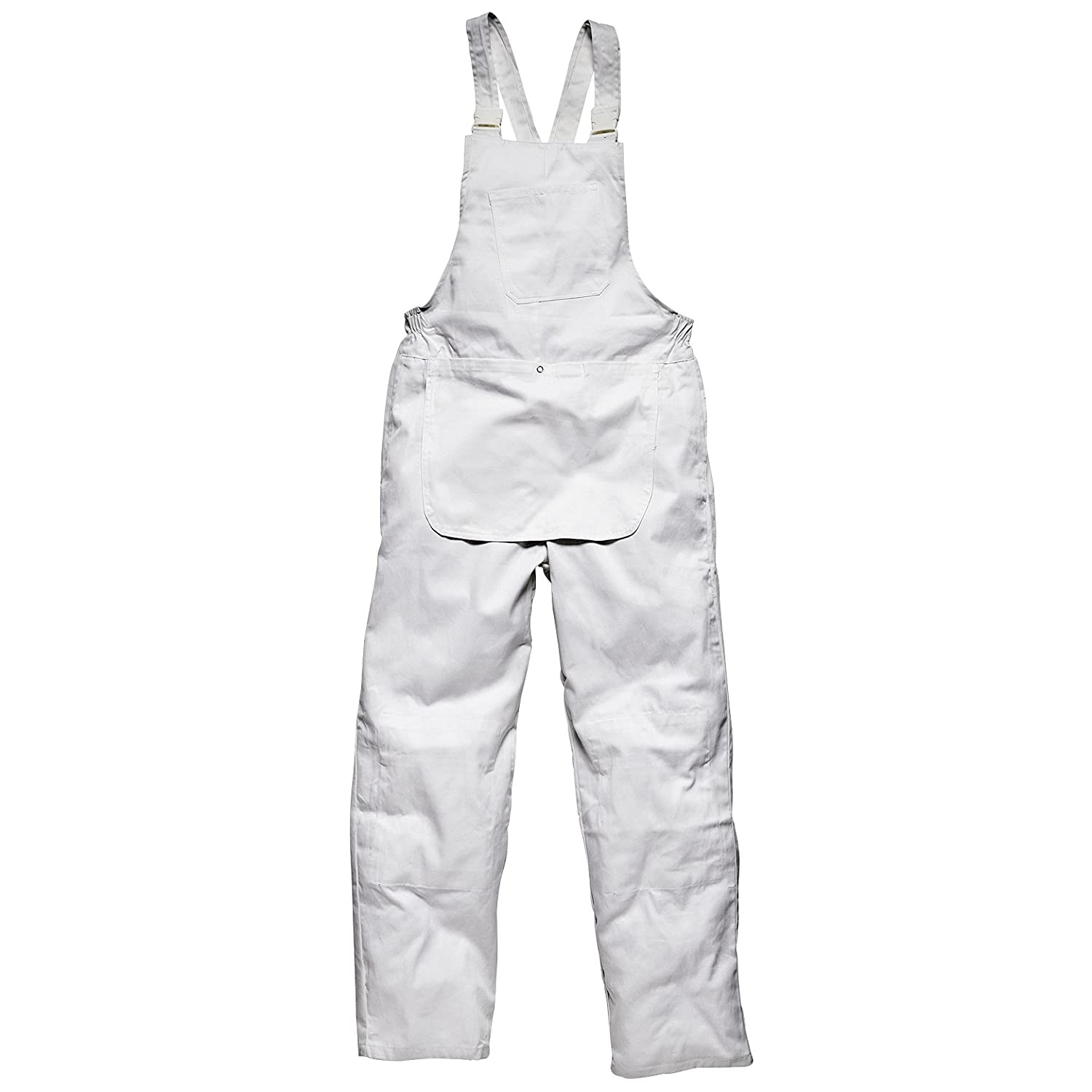 by Dickies Dickies Decorators Bib and Brace // Mens Workwear S White