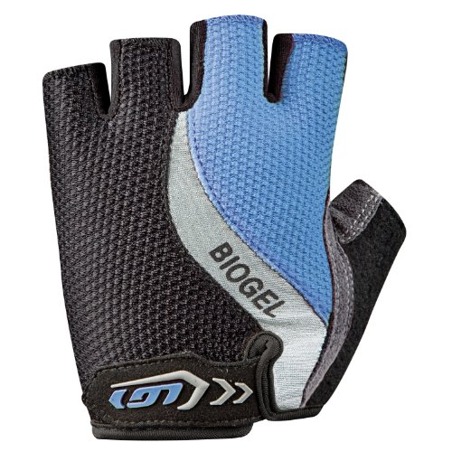 Louis Garneau Biogel RX Cycling Glove - Women's Flash Blue, (Garneau Womens Glove)