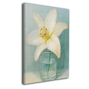 Amazon.com: Perfect Art - Pintura para mujer en una flor ...