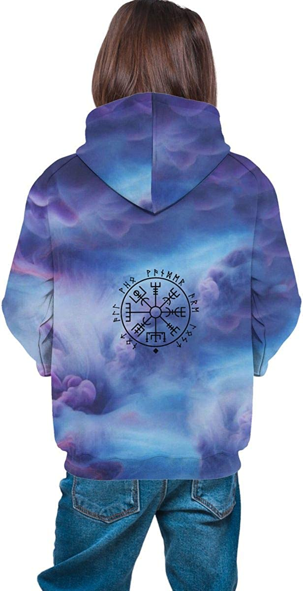 Compass Athletic Sweatshirts Pullover Tracksuits for Teen Girls Boys