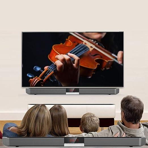 LEDU Altavoz Bluetooth, Sonido Bar TV Home Theater subwoofer ...