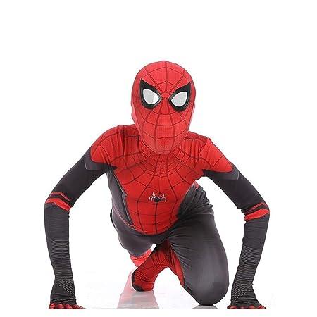 WEGCJU Expedición Spiderman Traje Rojo Traje De Superhéroe Niño ...