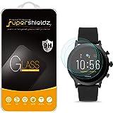 Supershieldz - Protector de pantalla de vidrio templado para reloj inteligente Fossil Gen 5, antiarañazos, sin burbujas