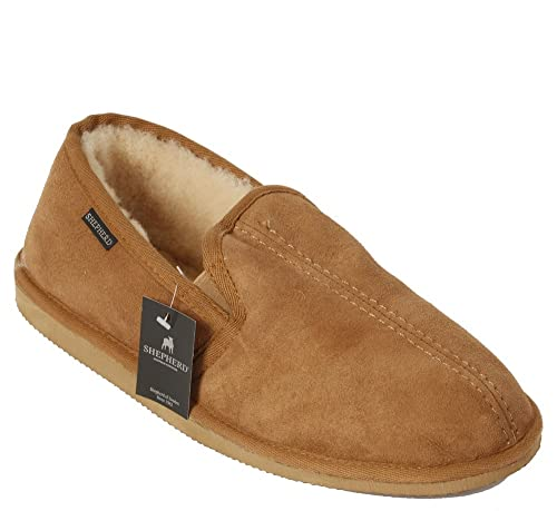 Shepherd Double Gusset Classic Sheepskin Slipper B00B9IEH0G